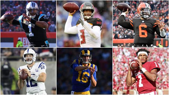 With Opta's help, we see how Kyler Murray compares to first picks Baker Mayfield, Jared Goff, Jameis Winston, Andrew Luck and Cam Newton.