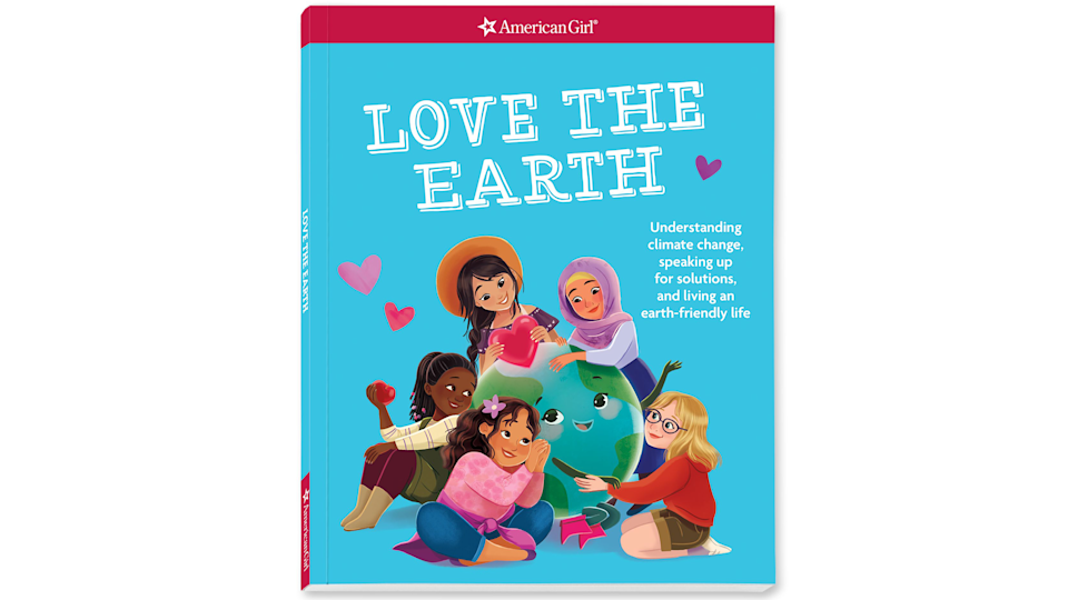 """Valentine's gifts for kids: """"Love the Earth"""" book"""