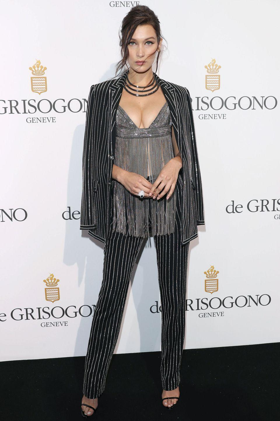 <p>In Givenchy at the De Grisogono Party at the annual 69th Cannes Film Festival at Hotel du Cap-Eden-Roc in Cap d'Antibes, France.</p>