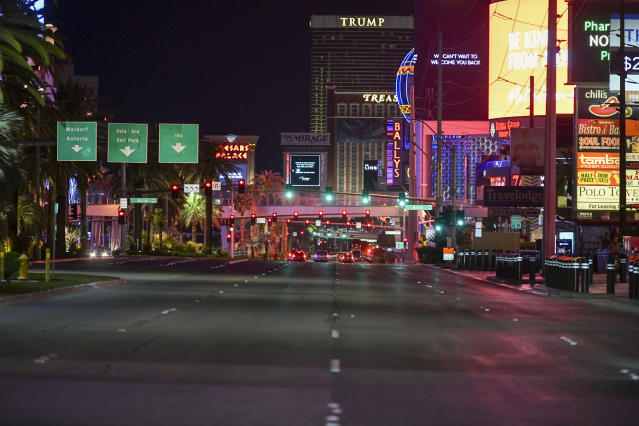 A scene last month on the Las Vegas Strip. (Damairs Carter/MediaPunch /IPX)