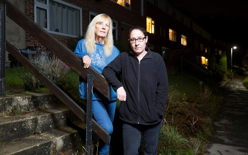 Jill and Nikki Douthwaite were tricked by a cruel conveyancing scam which saw them lose their life savings of almost £114,000 - Jeff Gilbert
