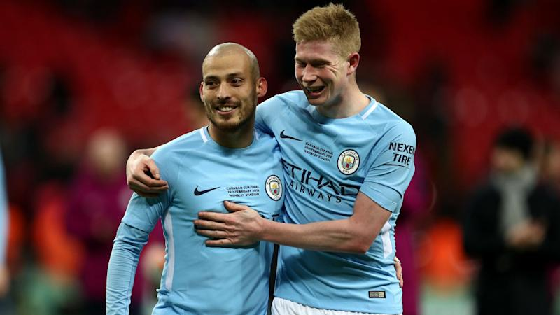 De Bruyne grateful for Silva as City pair achieve gold standard