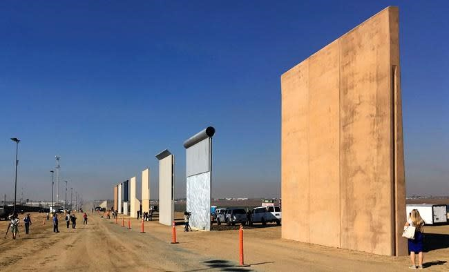 Past projects show border wall building is complex, costly