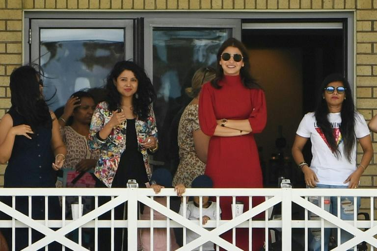 Kohli's Bollywood actress wife Anushka Sharma, was present every day of the Test