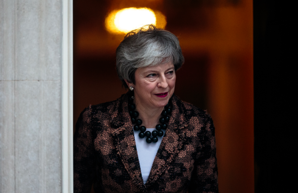 <em>Theresa May has resisted any demand to rule out a no deal Brexit (Getty)</em>