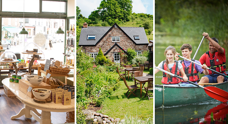The Forest Deli, Tudor Farmhouse and Forest Holidays are just few activities up for grabs in Gloucestershire