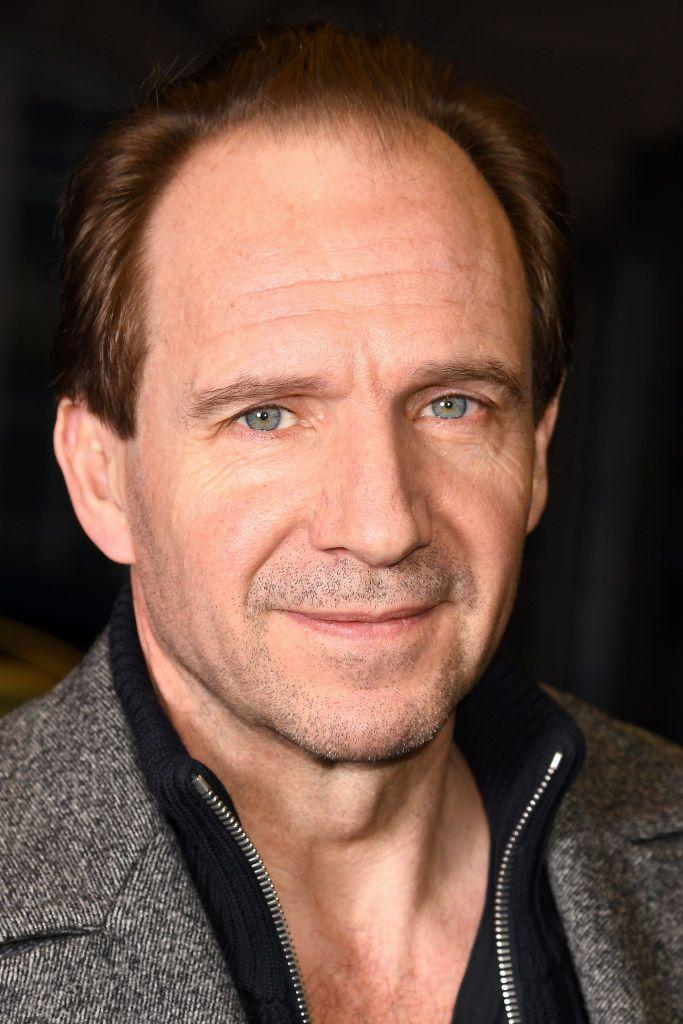 <p>The incredibly talented Fiennes has blue eyes with gold and brown flecks, which is called partial heterochromia.</p>