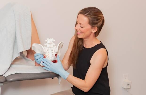 Paige Martin opened P.E.I. Pelvic and Breast Health in June in Cornwall.  (Emily Taylor Photography - image credit)
