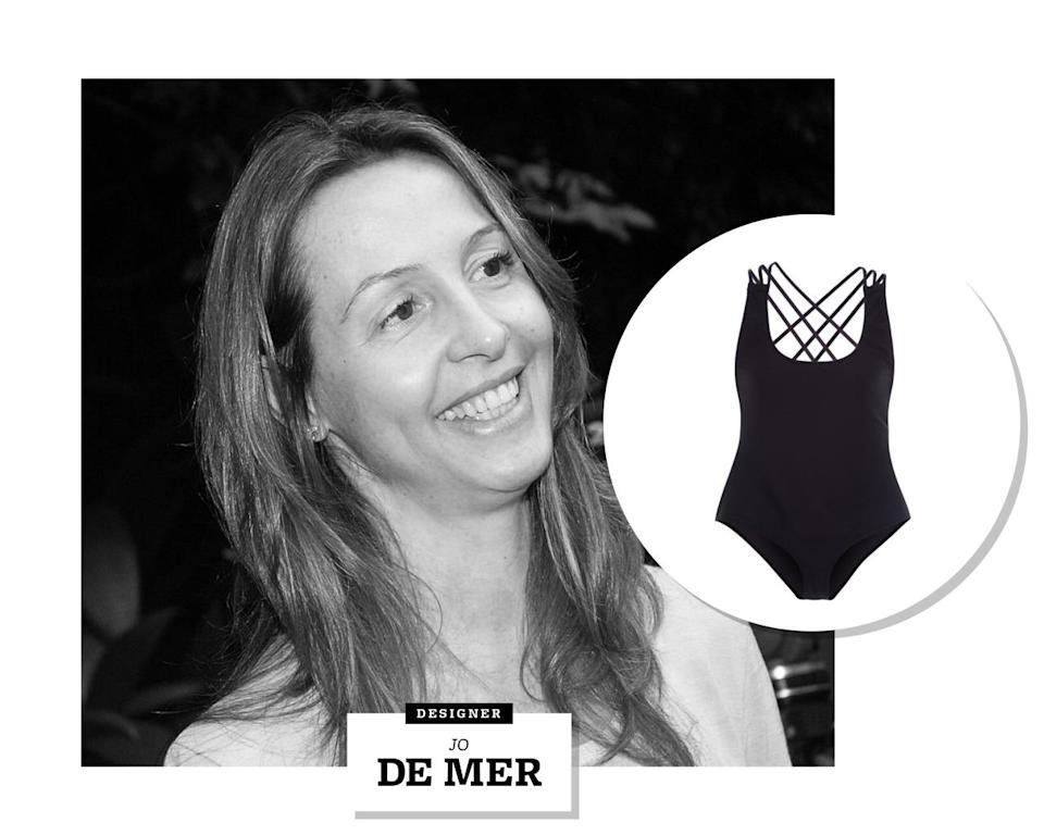 """<p>Whose style would you respect more: A fashion editor's, or a designer's? Amalia Spinardi — the woman behind Brazilian swimwear brand Jo de Mer — is both.</p><p>Spinardi worked as an editor at Elle Brazil before dedicating her career to design. She laid out ideas for the line while she was pregnant in 2004, with a main focus on creating beautiful Brazilian swimwear that was <a rel=""""nofollow noopener"""" href=""""http://t.umblr.com/redirect?z=http%3A%2F%2Fwww.fashionlabelbrasil.com%2Fen%2Fpress%2Fnews%2F788%2FABEST-Interview-Amalia-Spinardi&t=NjExNzE0OTg5MmFlMDU5NGUwMGVjMmU1ZDgzMjYxZWEyMTY4MjVmNCxvR1lkUjhOcA%3D%3D"""" target=""""_blank"""" data-ylk=""""slk:100% waterproof"""" class=""""link rapid-noclick-resp"""">100% waterproof</a> — and ended up naming it after her newborn son, Joseph. Twelve years on, Jo de Mer is still going strong.</p><p>In addition to its signature swimsuits (Spinardi named the VAL and the COCO as the two most popular), Jo de Mer now sells caftans, wraps, tunics, bags, and other beachy accessories. So it comes as no surprise that Spinardi names Brazil's beaches as her favorite place to draw inspiration. As <a rel=""""nofollow noopener"""" href=""""http://t.umblr.com/redirect?z=http%3A%2F%2Fwww.wmagazine.com%2Fculture%2Ftravel%2F2015%2F06%2Famalia-spinardi-jo-de-mer-brazil-beach%2Fphotos%2F&t=ZTcwYjU2ODVkYWExMDhjOGMyMzc5OTNlZDdjMjUzNGYyMTU3MzYxMSxvR1lkUjhOcA%3D%3D"""" target=""""_blank"""" data-ylk=""""slk:she told W"""" class=""""link rapid-noclick-resp"""">she told W</a>, her all-time favorite spot is Laranjeiras beach in Rio de Janeiro. """"It's surrounded by the Atlantic Forest, which is breathtakingly beautiful, the water is almost transparent and the beach is very family-friendly,"""" she explains. """"I go to the beach to relax and reenergize. Being stressed is not conducive to creating good work.""""</p>"""