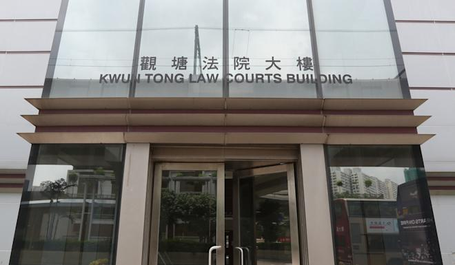 An unofficial first-aid volunteer arrested in September pleaded guilty to using a walkie-talkie without a licence at Kwun Tong court on March 16. Photo: Nora Tam