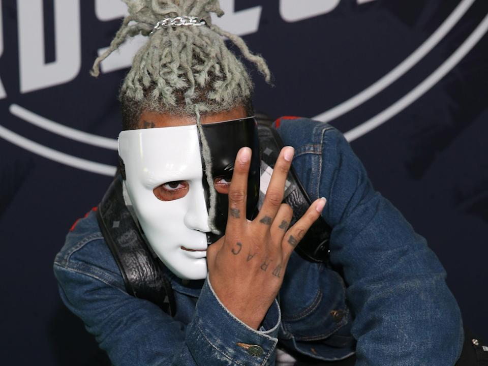 XXXTentacion, pictured in 2017 (Getty Images for BET)
