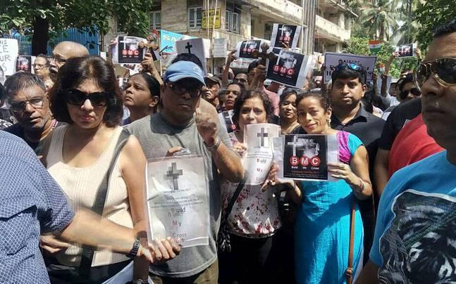 Mumbai: Citizens to approach court against BMC for demolishing 122-year-old 'cross'