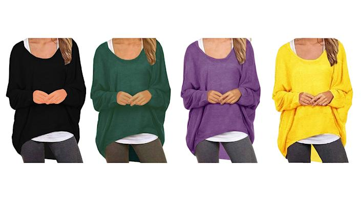 Uget what you pay for —  in this case, a stylish, flattering, versatile go-to sweater at an unbeatable price. (Photo: Amazon)