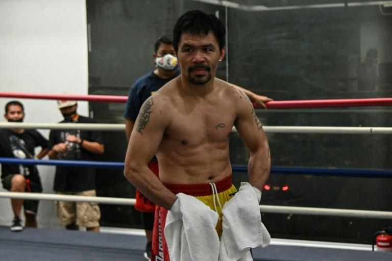 Manny Pacquiao's comeback fight is a chance to prove his mettle at 42 -- an age when most boxers have already hung up their gloves -- and score a lucrative payday before a widely expected tilt at the presidency next year