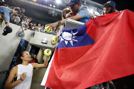 Chung is 1st Korean to reach Aussie Open semis