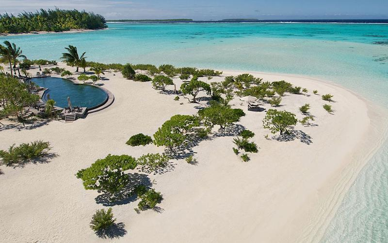 The Brando, on a private island, offers vast thatched villas, each with a slice of private beach and its own pool.
