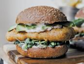"""<p>Filet-O-Fish, meet your plant-based counterpart, Filet o' Tempeh. <a href=""""https://www.thedailymeal.com/cook/fast-food-copycat-recipes-chipotle-taco-bell?referrer=yahoo&category=beauty_food&include_utm=1&utm_medium=referral&utm_source=yahoo&utm_campaign=feed"""" rel=""""nofollow noopener"""" target=""""_blank"""" data-ylk=""""slk:Skip the drive-thru"""" class=""""link rapid-noclick-resp"""">Skip the drive-thru</a> and make this fan-favorite sandwich at home instead. You'll probably forget about fast food after tasting this.</p> <p><a href=""""https://www.thedailymeal.com/best-recipes/filet-o-tempeh-sandwiches?referrer=yahoo&category=beauty_food&include_utm=1&utm_medium=referral&utm_source=yahoo&utm_campaign=feed"""" rel=""""nofollow noopener"""" target=""""_blank"""" data-ylk=""""slk:For the Filet o' Tempeh recipe, click here."""" class=""""link rapid-noclick-resp"""">For the Filet o' Tempeh recipe, click here.</a></p>"""