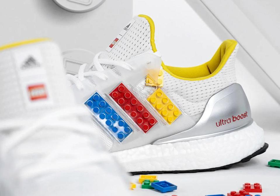 These new Adidas sneakers allow you to carry your love of LEGO everywhere.