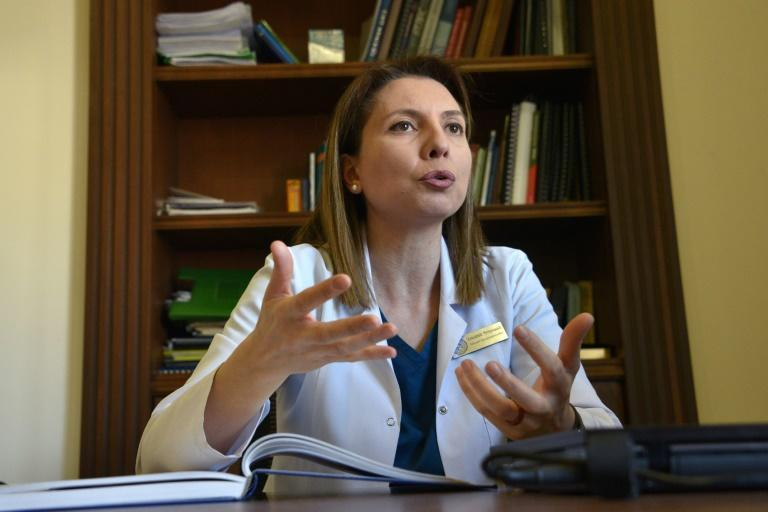 Chief physician Lusine Poghosyan says they try to motivate the wounded soldiers to go on living