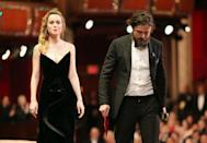 """<p>Brie Larson presented Casey Affleck — who has been <a href=""""http://time.com/4645846/what-to-know-about-the-casey-affleck-oscar-controversy/"""" rel=""""nofollow noopener"""" target=""""_blank"""" data-ylk=""""slk:accused of sexual harassment"""" class=""""link rapid-noclick-resp"""">accused of sexual harassment</a> by two women — with the <a href=""""https://www.goodhousekeeping.com/life/entertainment/news/a43039/oscars-2017-most-awkward-moments/"""" rel=""""nofollow noopener"""" target=""""_blank"""" data-ylk=""""slk:Best Actor award"""" class=""""link rapid-noclick-resp"""">Best Actor award</a>. The prior year, Larson had won her Best Actress award for her portrayal of a rape victim. <a href=""""https://mic.com/articles/169715/when-casey-affleck-won-his-oscar-brie-larson-s-face-said-it-all#.kKpVUX3YP"""" rel=""""nofollow noopener"""" target=""""_blank"""" data-ylk=""""slk:Many viewers noticed"""" class=""""link rapid-noclick-resp"""">Many viewers noticed</a> her displeased facial expression when she announced the winner, and she <a href=""""https://www.vanityfair.com/hollywood/2017/03/brie-larson-casey-affleck-not-clapping-oscars-best-actor"""" rel=""""nofollow noopener"""" target=""""_blank"""" data-ylk=""""slk:made it a point not to clap"""" class=""""link rapid-noclick-resp"""">made it a point not to clap</a> for Affleck. </p>"""