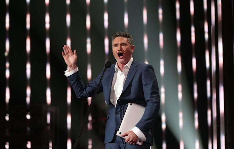 KIIS FM's Dave 'Hughesy' Hughes (pictured here earlier this year) has slammed the controversial anti-gay marriage ad published last week. Source: Getty