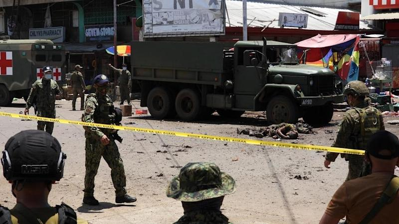Bomb attacks in southern Philippines kill at least 10, wound dozens