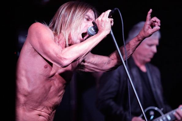 Musician Iggy Pop performs onstage at the Vans Music Showcase during the 2013 SXSW Music, Film + Interactive Festival at Mohawk Outdoor on March 13, 2013 in Austin, Texas.