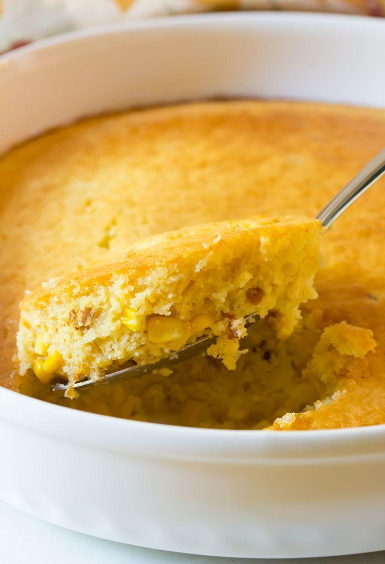 "<p>You can enjoy heart-warming corn pudding as a side just about any time of year. Similar to cornbread, it'll be great at a BBQ!</p><p><strong>Get the recipe at <a href=""https://www.thepioneerwoman.com/food-cooking/recipes/a90213/corn-pudding/"" rel=""nofollow noopener"" target=""_blank"" data-ylk=""slk:A Spicy Perspective"" class=""link rapid-noclick-resp"">A Spicy Perspective</a>. </strong></p><p><strong><a class=""link rapid-noclick-resp"" href=""https://go.redirectingat.com?id=74968X1596630&url=https%3A%2F%2Fwww.walmart.com%2Fsearch%2F%3Fquery%3Dbaking%2Bdishes&sref=https%3A%2F%2Fwww.thepioneerwoman.com%2Ffood-cooking%2Fmeals-menus%2Fg35993911%2Fbest-corn-recipes%2F"" rel=""nofollow noopener"" target=""_blank"" data-ylk=""slk:SHOP BAKING DISHES"">SHOP BAKING DISHES</a><br></strong></p>"