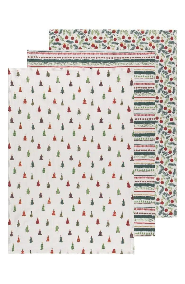 <p>Bring the holiday spirit into your kitchen, thanks to these <span>Now Designs Set of 3 Merry &amp; Bright Kitchen Towels</span> ($16). Sold as a set of three varying prints, these towels will look good on their own or mixed together.</p>