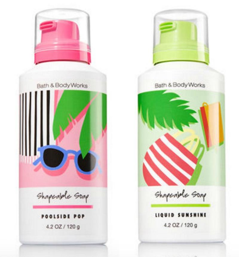 "Bath and Body Works\' new line of ""shapeable soaps"" are like bath ..."