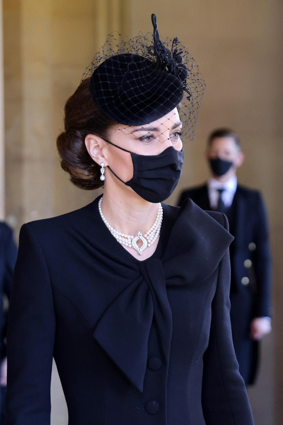 """<h1 class=""""title"""">The Funeral Of Prince Philip, Duke Of Edinburgh Is Held In Windsor</h1><cite class=""""credit"""">Chris Jackson</cite>"""