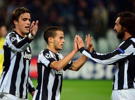 Juventus managed only three draws before finally hitting form with a 4-0 rout of Danish champions Nordsjaelland in Turin