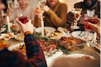 """<p>Keeping it simple doesn't mean it can't be stylish. Typically, when home cooks entertain at <a href=""""https://www.delish.com/uk/cooking/recipes/g34314112/christmas-side-dishes/"""" rel=""""nofollow noopener"""" target=""""_blank"""" data-ylk=""""slk:Christmas"""" class=""""link rapid-noclick-resp"""">Christmas</a>, they want to try a complicated recipe or do something over the top. The key here is to make something classic, yet elevated. That way, you'll spend less time and effort in the kitchen, and more time celebrating.</p>"""