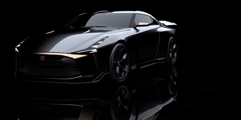 The Nissan Gt R50 By Italdesign Is A 720hp Birthday Cake