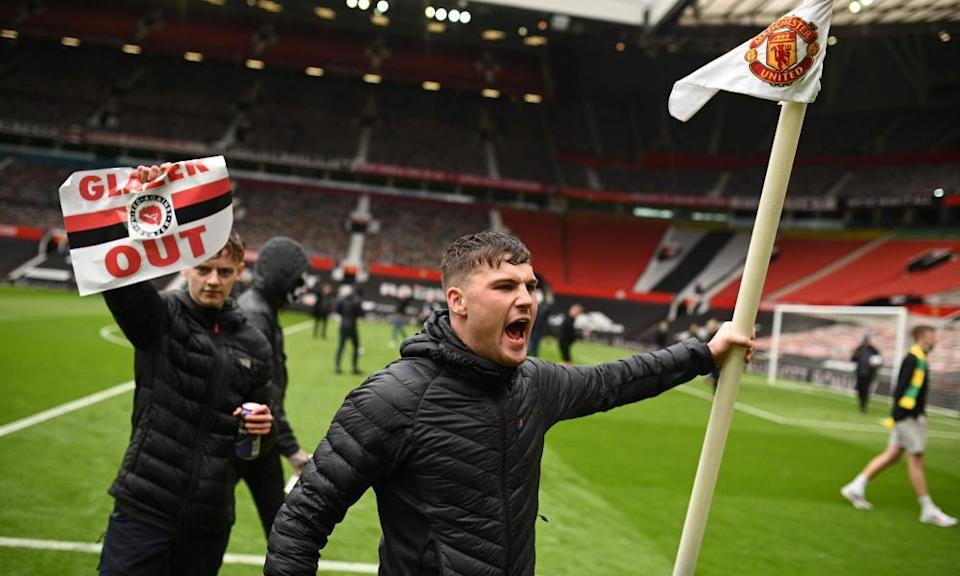 A show of defiance on the Old Trafford pitch made headlines but to what extent would fans be prepared to sacrifice that for a more equitable model?