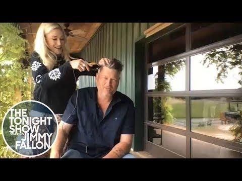 "<p>Despite the setback of quarantine, Blake and Gwen showed us they could still have fun doing the smallest of tasks: like a haircut at home. </p><p>""We learned how to make bread real good, sourdough bread,"" Shelton said on <em>The Tonight Show with Jimmy Fallon</em> of what they had been doing to keep busy at-home. ""Literally it's like <em>Little House on the </em><em>Prairie</em> here. She makes bread, I've been building a fence and gardening. We're pretty self-sufficient out here.""</p><p><a href=""https://www.youtube.com/watch?v=dfswB9y3WEU&feature=emb_title"" rel=""nofollow noopener"" target=""_blank"" data-ylk=""slk:See the original post on Youtube"" class=""link rapid-noclick-resp"">See the original post on Youtube</a></p>"
