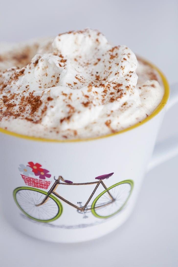 """<p>With autumnal flavors and a rich coffee base, it's no surprise as to why the pumpkin spice latte is always a hit. Feel free to make this any season of the year - it's <em>that</em> good.</p> <p><strong>Original Starbucks Drink:</strong> <a href=""""http://www.starbucks.com/menu/drinks/espresso/pumpkin-spice-latte"""" class=""""link rapid-noclick-resp"""" rel=""""nofollow noopener"""" target=""""_blank"""" data-ylk=""""slk:PSL"""">PSL</a></p> <p><strong>Homemade Version:</strong> <a href=""""https://www.popsugar.com/food/Starbucks-Pumpkin-Spice-Latte-Recipe-38272478"""" class=""""link rapid-noclick-resp"""" rel=""""nofollow noopener"""" target=""""_blank"""" data-ylk=""""slk:PSL"""">PSL</a></p>"""