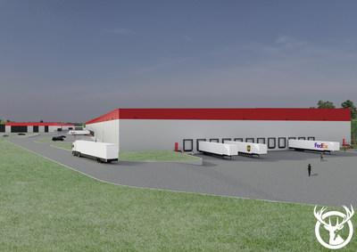 Red Stag Fulfillment New Fulfillment Center Rendering