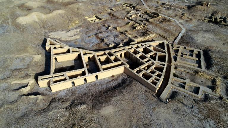 The ancient city of Ur is in modern-day Dhi Qar province in southern Iraq, less than 20 km from Nasiriyah