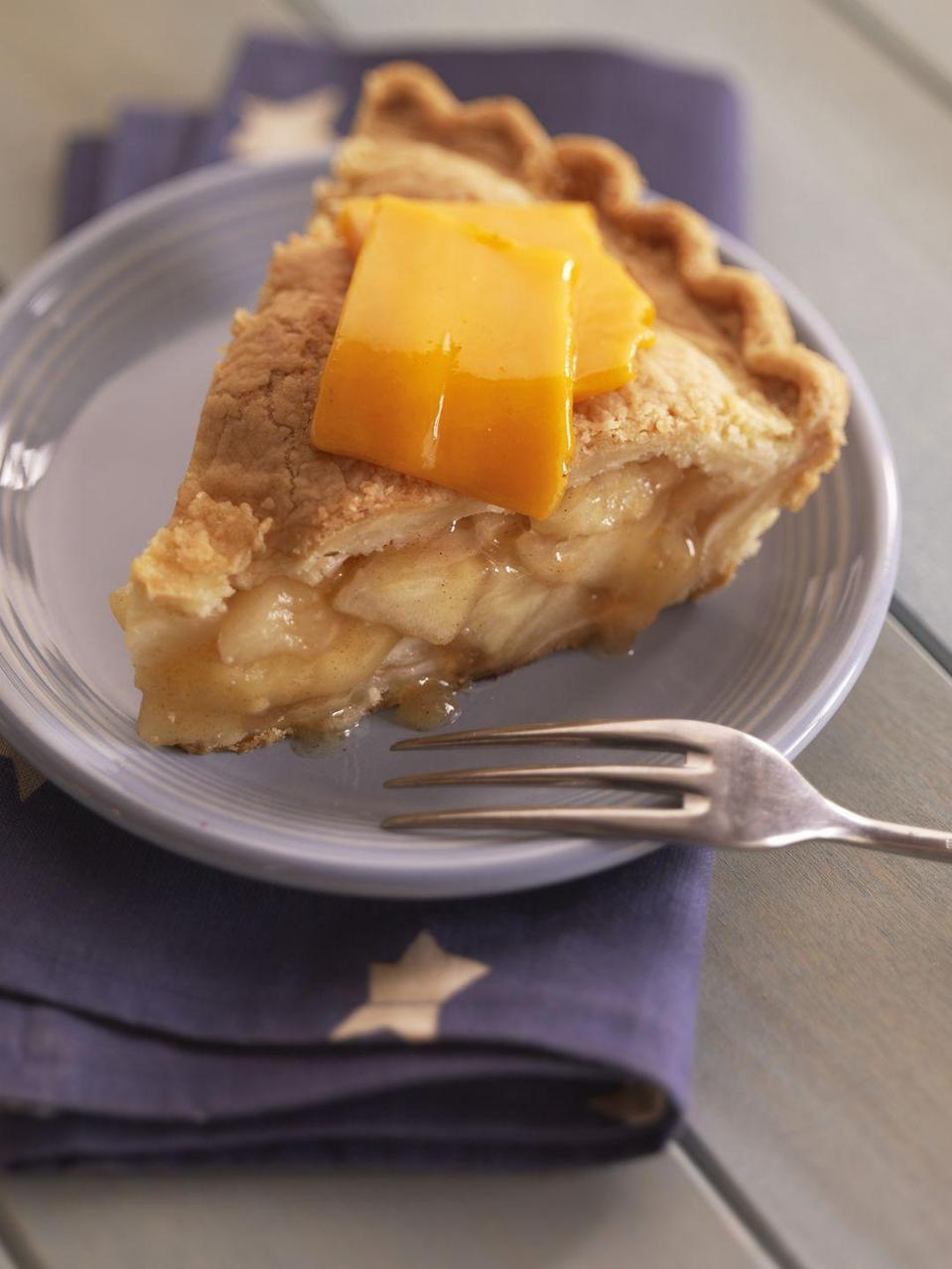 <p>Cheese deserves a leading role in the lives of all Wisconsin residents according to state law—it's even been made illegal to serve apple pie in public without the addition of a slice of cheese on top.</p>