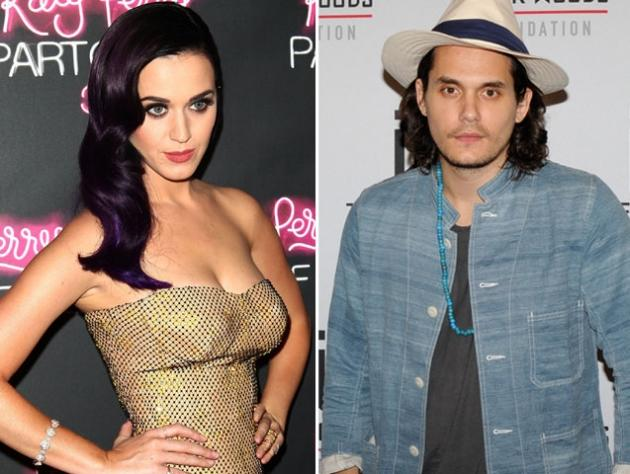Katy Perry / John Mayer -- Getty Images