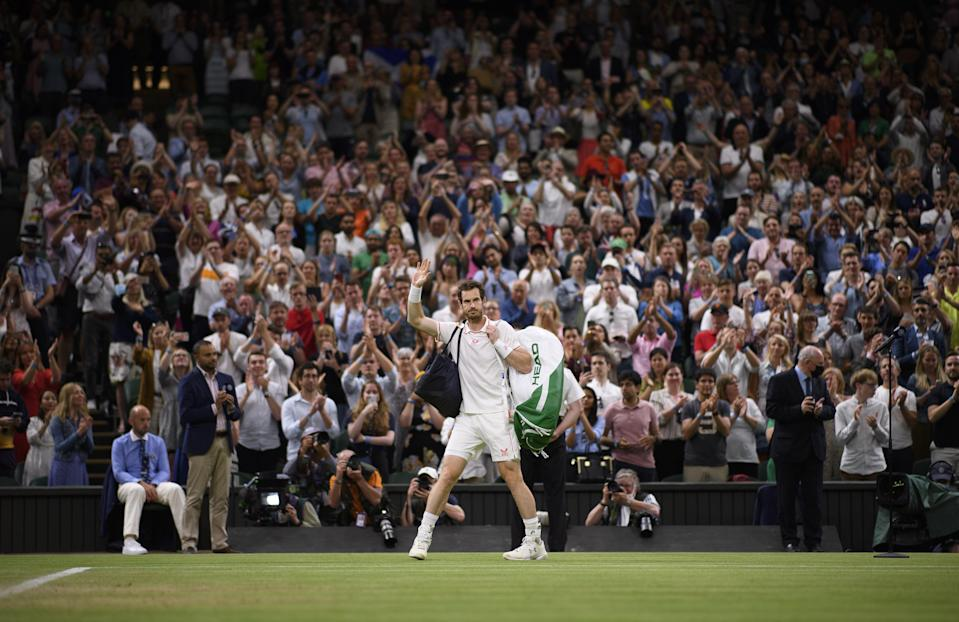 My favourite moment was seeing Andy Murray and Denis Shapovalov play (PA Wire)
