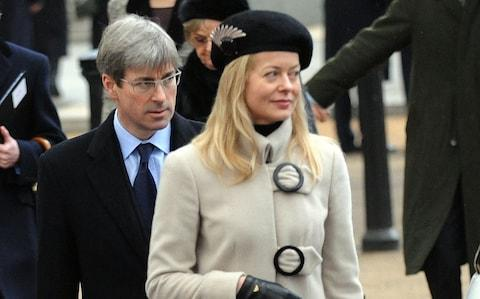 Lady Helen Taylor and husband Timothy Taylor - Credit: EDDIE MULHOLLAND/Eddie Mulholland