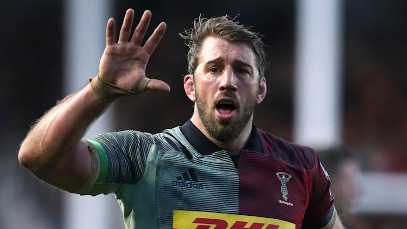 Harlequins give Chris Robshaw winning farewell with victory over Leicester