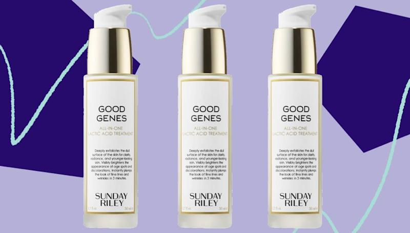 Sunday Riley's Good Genes Lactic Acid Treatmenthas been known as a pricey cult favorite. (Photo: HuffPost)