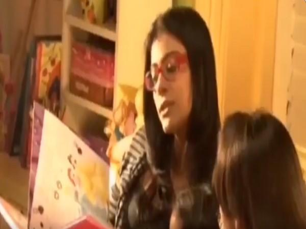 A still from the video shared by actor Kajol (Image source: Twitter)