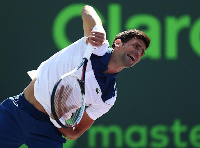 Novak Djokovic has struggled this season, but is a possible quarter-final opponent for Nadal (AFP Photo/AL BELLO)