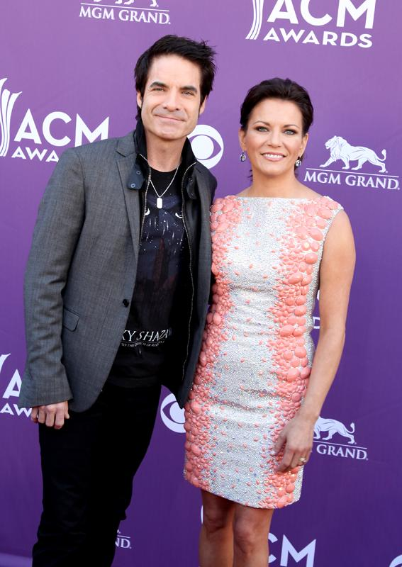 PAT MONAHAN AND MARTINA MCBRIDE, Live from the RAM Red Carpet, 47th Annual ACM Awards, Las Vegas, NV