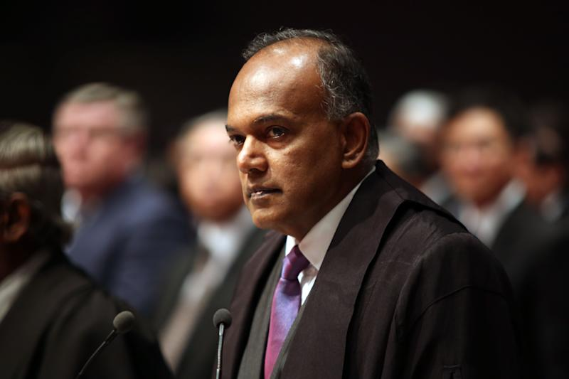 Shanmugam cited the example of US comedian and ventriloquist Jeff Dunham as an example of someone who