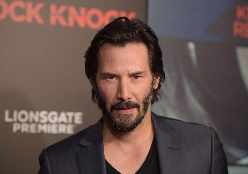 """<p>Heartthrob Keanu Reeves played bass in his garage band Dogstar. Though the band released<a href=""""https://open.spotify.com/album/6kS5wc4teWNtxrmwpEEf3O?si=XR984zPwRrmQCFhVgu_WIQ"""" rel=""""nofollow noopener"""" target=""""_blank"""" data-ylk=""""slk:two albums"""" class=""""link rapid-noclick-resp""""> two albums</a> and <a href=""""https://www.reddit.com/r/KeanuBeingAwesome/comments/8c8pr8/old_school_keanu_cool_with_david_bowie_dogstar/"""" rel=""""nofollow noopener"""" target=""""_blank"""" data-ylk=""""slk:opened for David Bowie"""" class=""""link rapid-noclick-resp"""">opened for David Bowie</a> once, Dogstar never achieved critical acclaim. Keanu shared his thoughts on that with <a href=""""https://www.gq.com/story/the-legend-of-keanu-reeves"""" rel=""""nofollow noopener"""" target=""""_blank"""" data-ylk=""""slk:GQ"""" class=""""link rapid-noclick-resp""""><em>GQ</em></a>: """"I guess it would have helped if our band was better.""""</p>"""